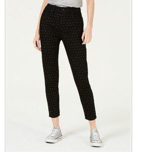 Rewash Studded  Skinny High Rise Jeans, W28/ L27;